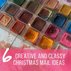 Creative and Classy Christmas Mail Ideas